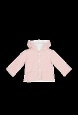 House Of Jamie Bow Tie Hooded Jacket Powder Pink