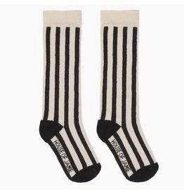 House Of Jamie Knee Socks Black & White