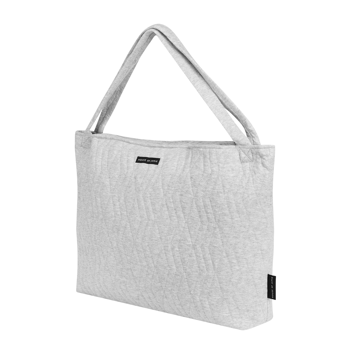 House Of Jamie On The Go Bag Geometry Jacquard Stone