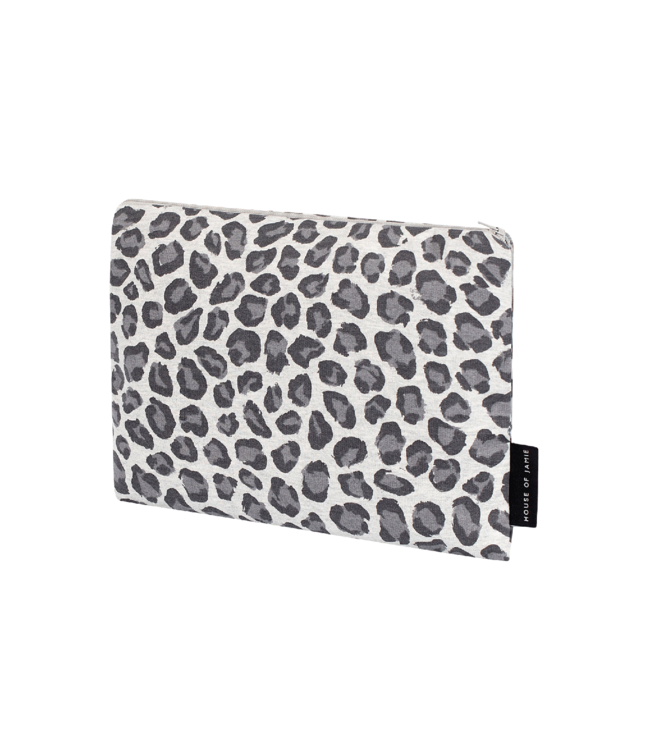 House Of Jamie On The Go Clutch Rocky Leopard