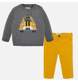 Mayoral Set Yellow Cab & Pants