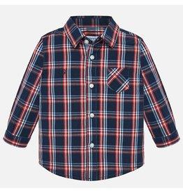 Mayoral L/S Poplin Check Shirt