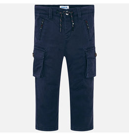 Mayoral Chino Cargo Pants Navy Blue