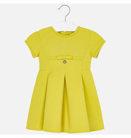Mayoral Elastic Dress Yellow