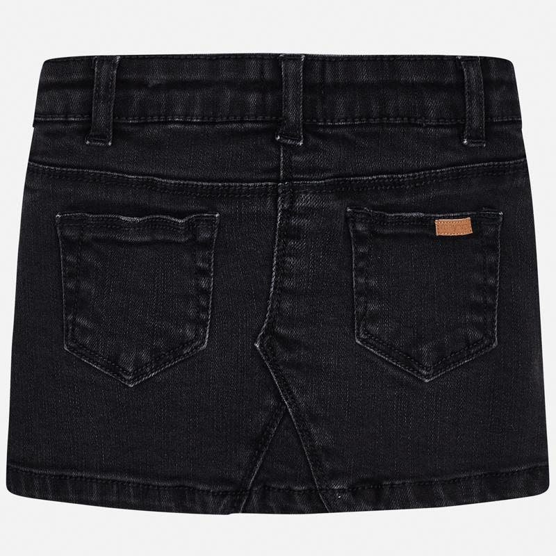 Mayoral Denim Skirt Black