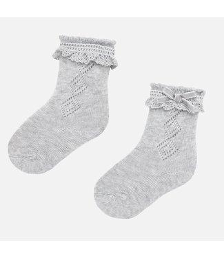 Mayoral Stockings Light Grey