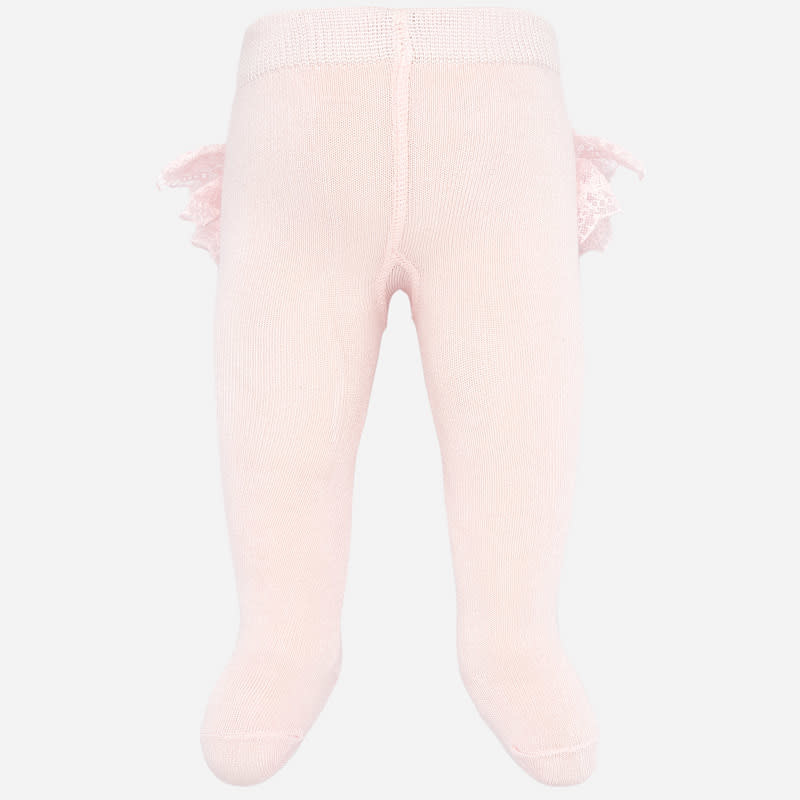 Mayoral Flounces Tights Pink