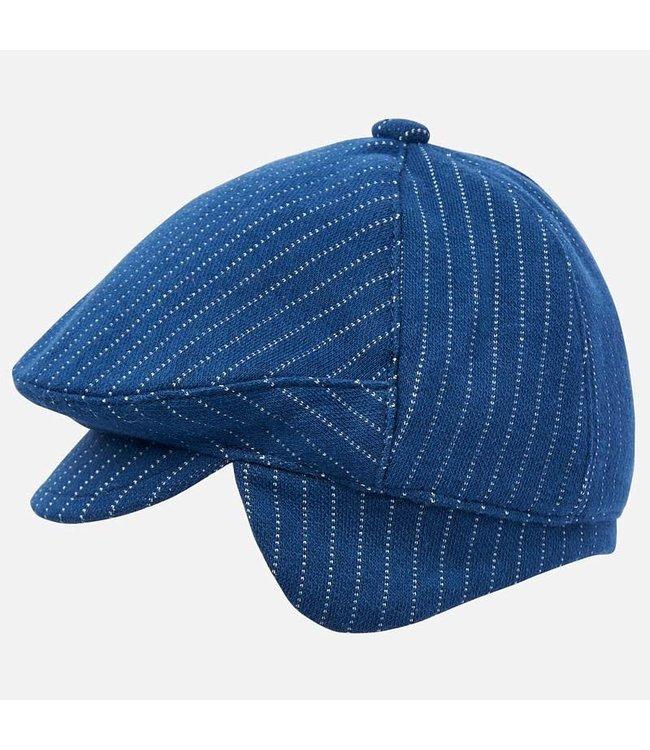 Mayoral Baret Blue Stripe