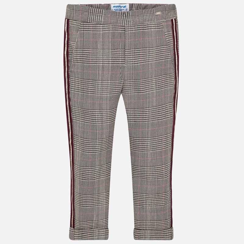 Mayoral Long Pants Jaquard Marron