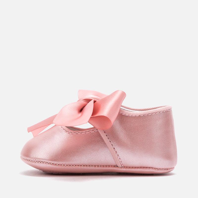 Mayoral Mary Jane Shoes Powder Metalic
