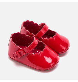Mayoral Paten Leather Mary Jane Shoes