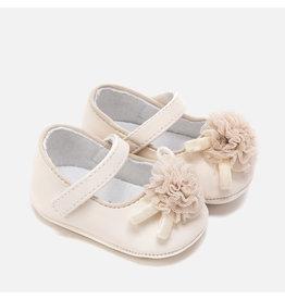 Mayoral Mary Jane Shoes Creme