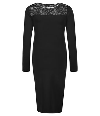 Queen Mum Dress Nursing Black