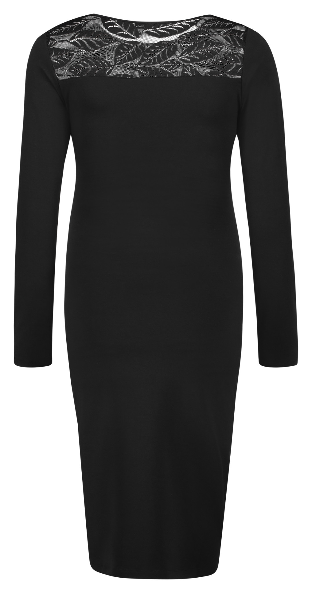 Queen Mum Dress Nursing Black