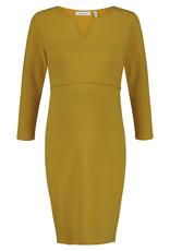 Queen Mum Dress Nursing 3/4 S Harvest Gold