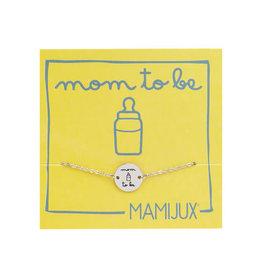 Steel Bracelet Mom To Be