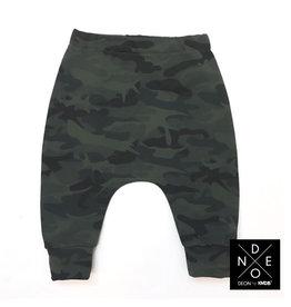 KMDB Pants Halo Camo Green