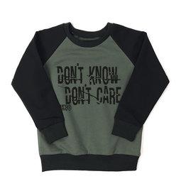 KMDB Sweater Don't Know Khaki/Black