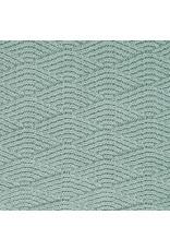 Jollein Deken 75x100cm River Knit Ash Green / Coral Fleece
