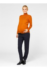 Mamalicious Jacina L/S Roll Neck Maternity Top