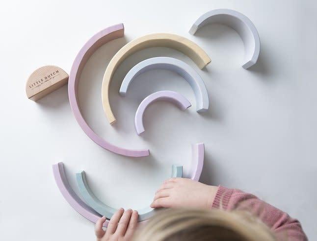 Little Dutch Wooden Rainbow Pink
