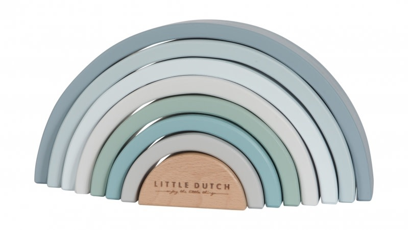 Little Dutch Wooden Rainbow Blue