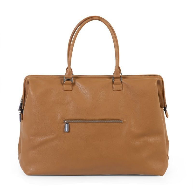 Childhome Mommy Bag Leatherlook Cognac