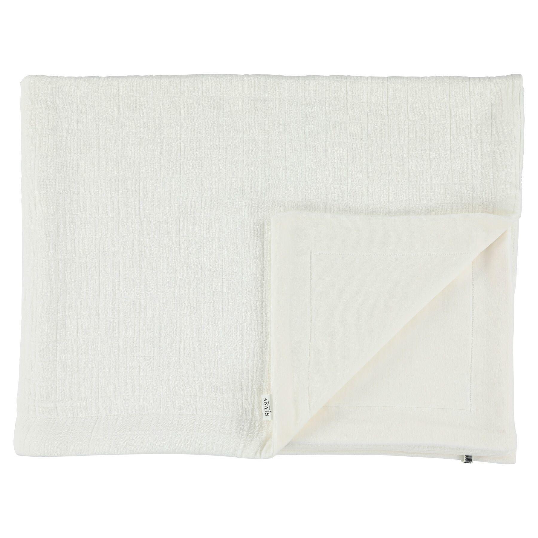 Les Rêves d'Anais Blanket 75x100cm Bliss White & Fleece