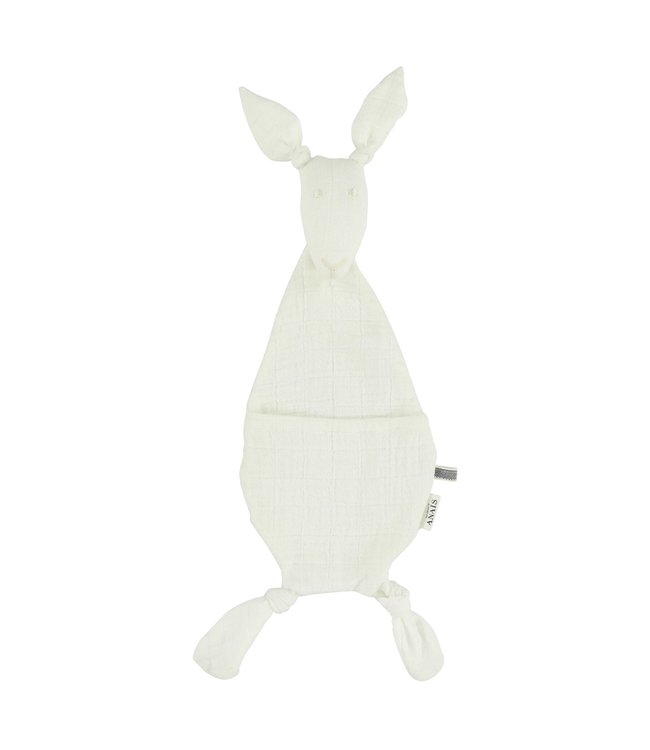 Les Rêves d'Anais Kangaroo Comforter Bliss White