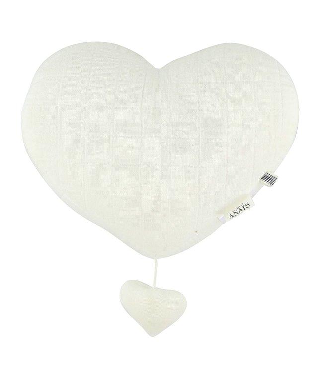 Les Rêves d'Anais Musical Heart Bliss White