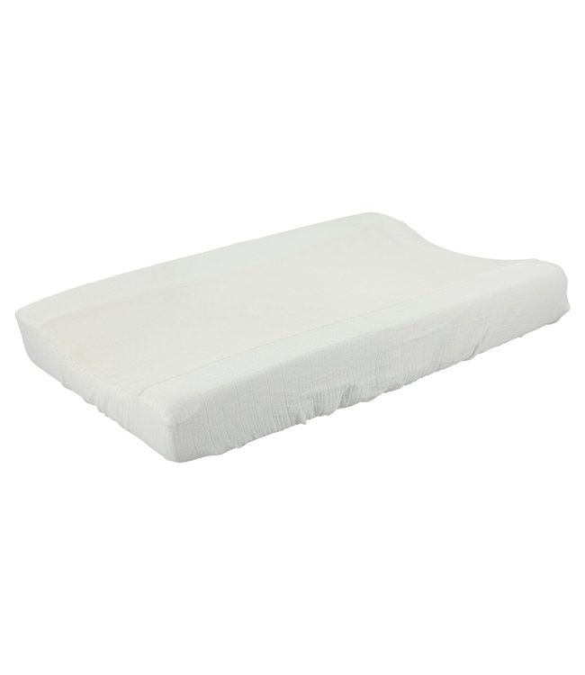 Les Rêves d'Anais Changing Pad Cover Bliss White