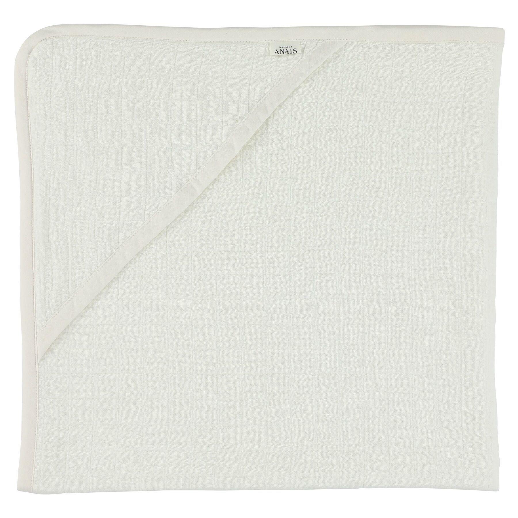 Les Rêves d'Anais Hooded Towel Bliss White