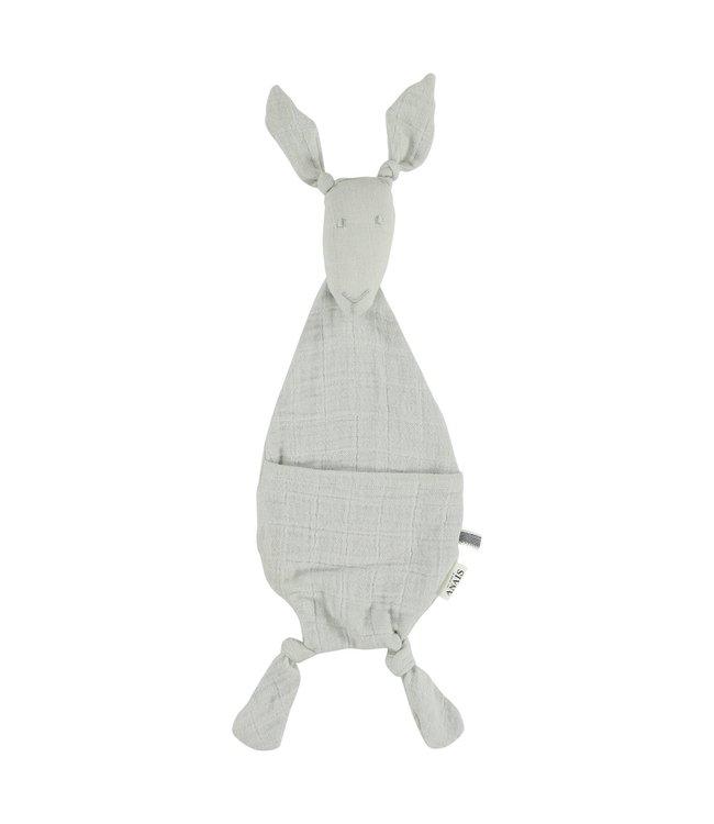 Les Rêves d'Anais Kangaroo Comforter Bliss Grey