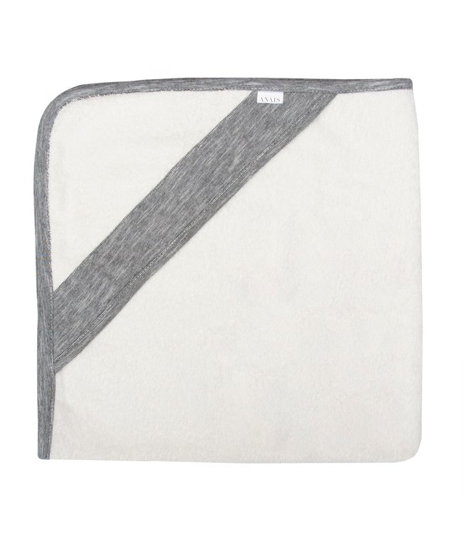 Les Rêves d'Anais Hooded Towel & Washcloth Slim Stripes