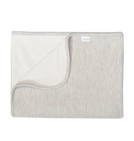 Les Rêves d'Anais Blanket 75x100cm Powder Stripes & Fleece