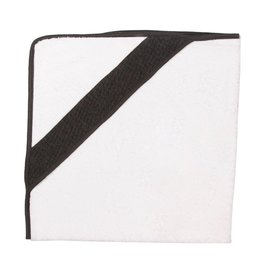 Les Rêves d'Anais Hooded Towel &Washcloth Diamond Anthracite