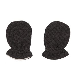 Les Rêves d'Anais Newborn Mittens Diamond Anthracite