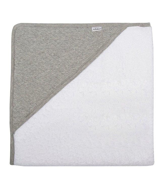 Les Rêves d'Anais Hooded Towel & Washcloth Diamond Stone