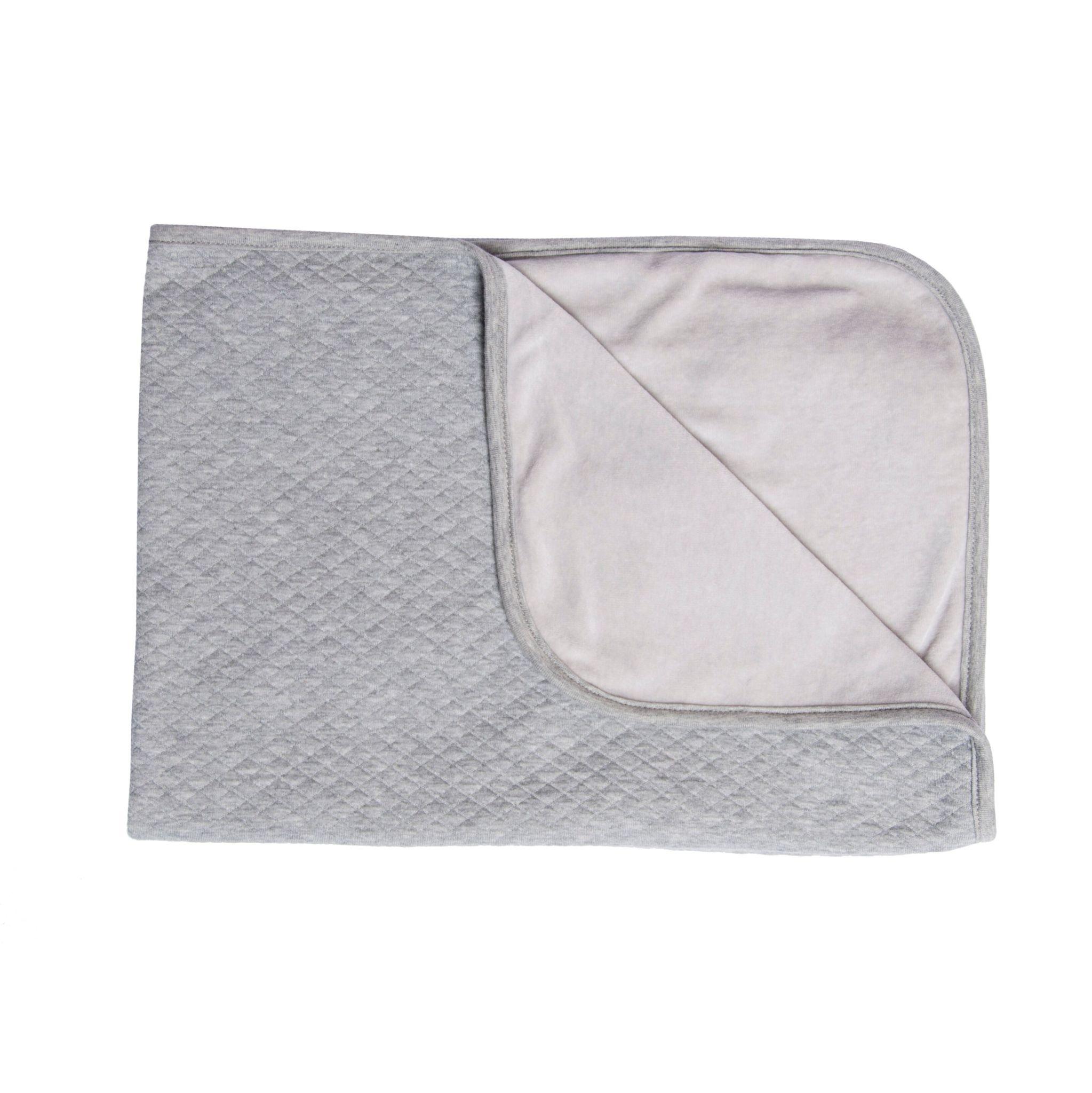 Les Rêves d'Anais Blanket 75x100cm Diamond Stone & Fleece
