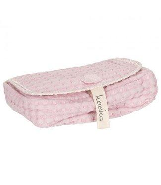 Koeka Antwerp Hoes Voor Babydoekjes Shadow Pink