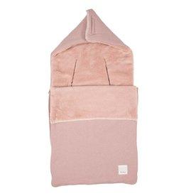 Koeka Runa Voetenzak Teddy Old Pink 3/5Punts