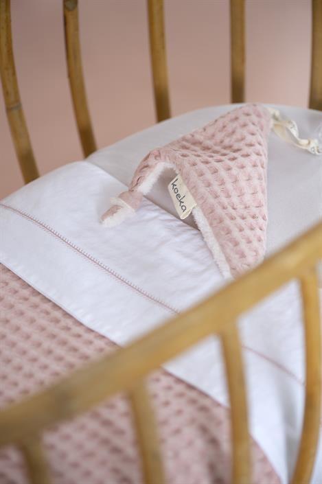 Koeka Oslo Wiegdeken Teddy Shadow Pink