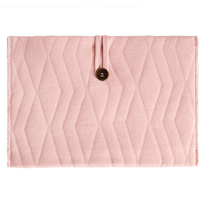 House Of Jamie Nappy Pouch Jacquard Powder Pink