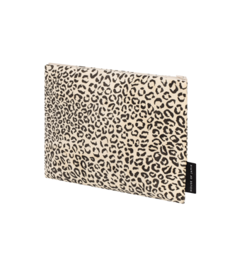 House Of Jamie On the Go Clutch Snow Leopard