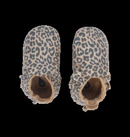 Bobux Soft Sole Gold Leopard Print