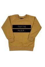KMDB Sweater 'Toffe Peer' Ocre-Black