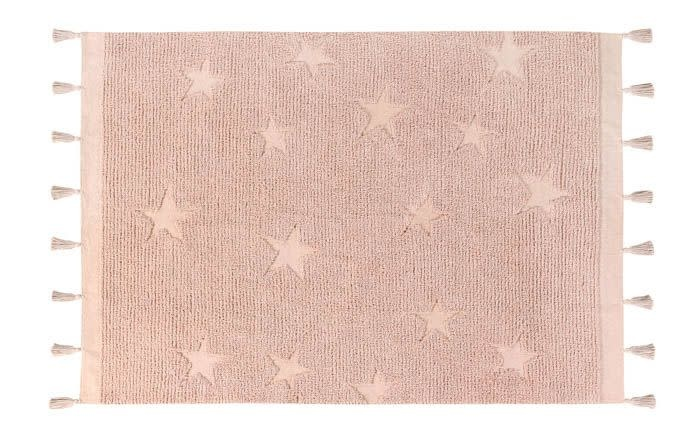 Lorena Canals Mat Hippy Stars Vintage Nude 120 x 175 cm