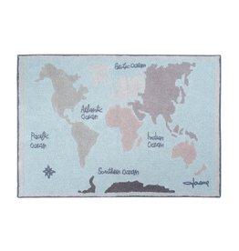 Lorena Canals Mat Vintage Map 140 x 200 cm