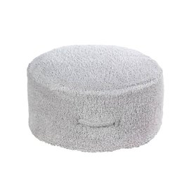 Lorena Canals Pouf Chill Pearl Grey 50 x 20 cm