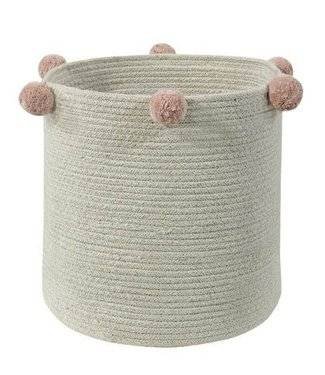 Lorena Canals Basket Bubbly Natural Nude 30x30cm
